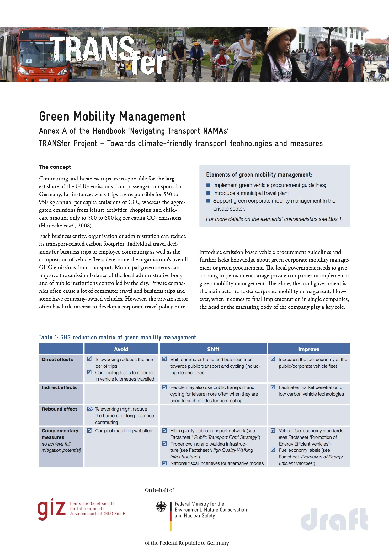 G.-Green-Mobility-Management