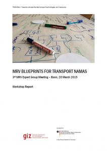 MRV Blueprints for Transport NAMAs