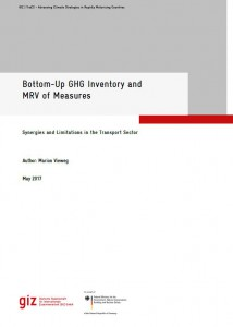 Bottom-Up GHG Inventory and MRV of Measures in the Transport Sector